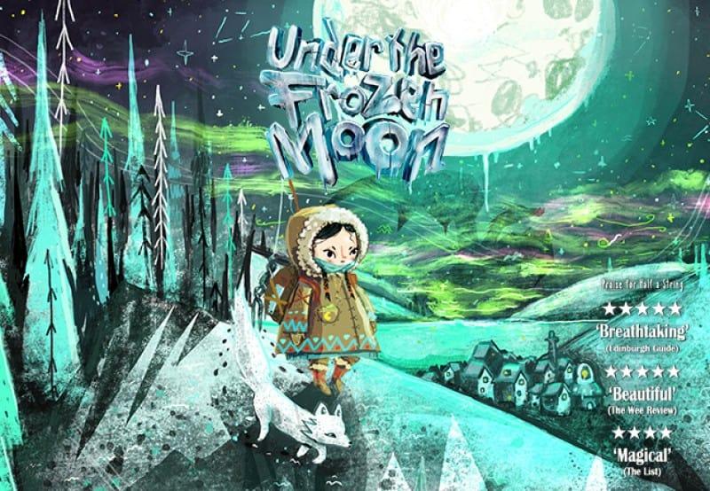 under the frozen moon hertford bsl interpreted performance 2021 panto